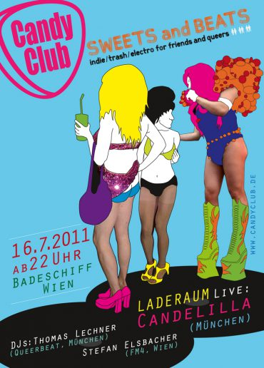 Candy Club goes Wien