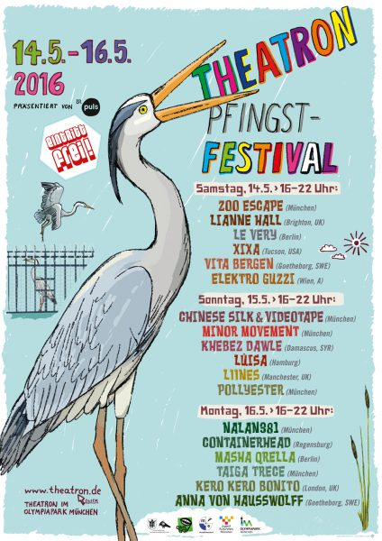 Posters Theatron Pfingstfestival