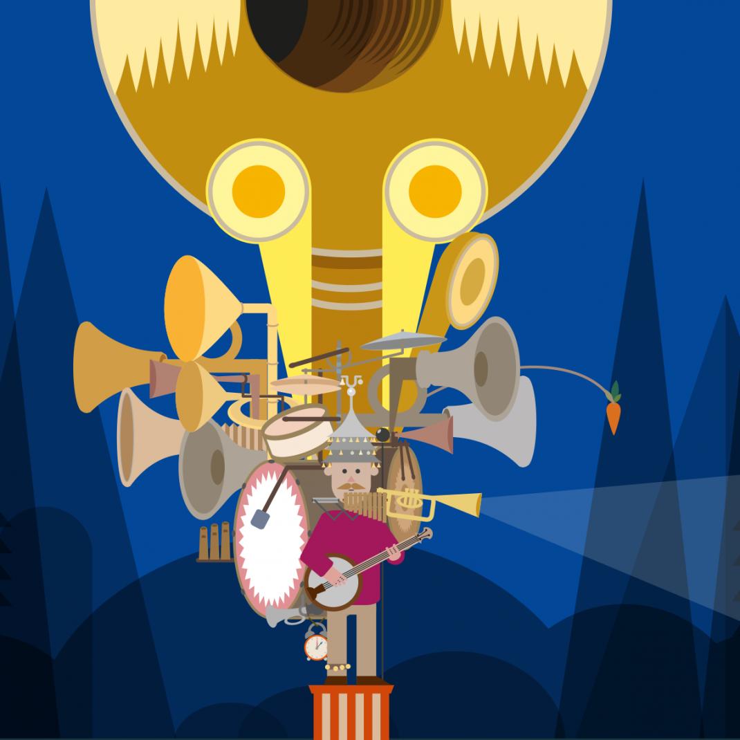 Cairo Plakat Vektorillustration