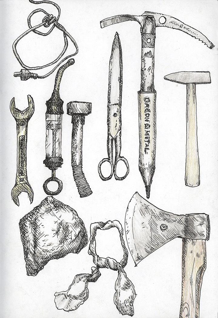 dangerous things, tools
